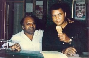 Donald Persaud and Muhammad Ali